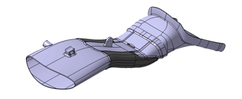 CAD file of the front air inlet.